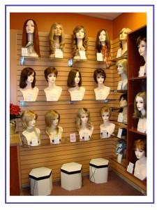wig selection